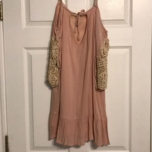 Altar'd State Dresses - Altar'd State Light Pink Tunic/Dress